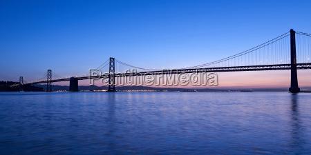 oakland bay bridge san francisco kalifornien