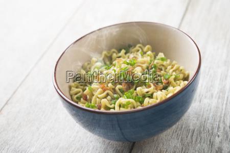 dried noodles bowl