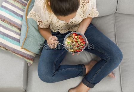 enjoy healthy food