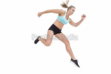 frau sport weiblich europid kaukasisch europaeisch