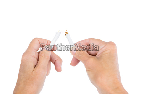 sigaretta pericolo mano rilasciato morte inclinazione
