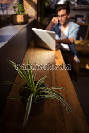 telefon telephon cafe restaurant laptop notebook