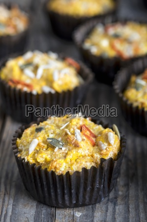 sweet potato muffins with chilli cheese