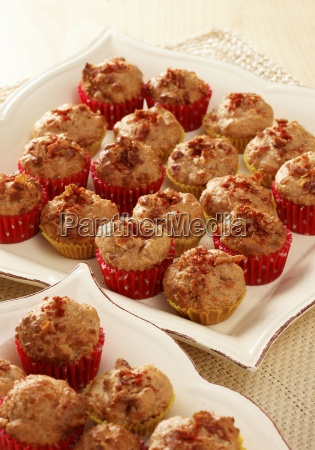 bite sized cheese and bacon muffins