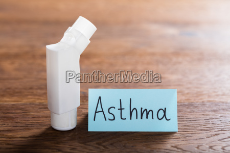 medical concept of asthma
