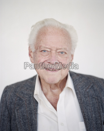 portrait of an elderly man with