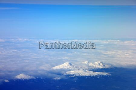 aerial view hawaii usa