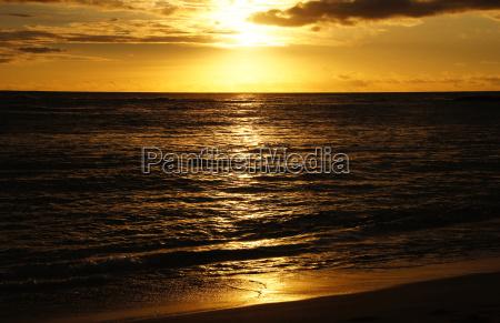 hawaii usa sonnenuntergang