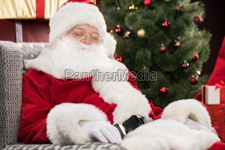 weihnachtsmann, schläft - 20508339