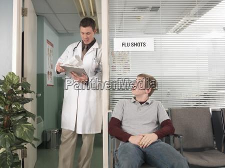 arzt mediziner medikus warten abwarten warte