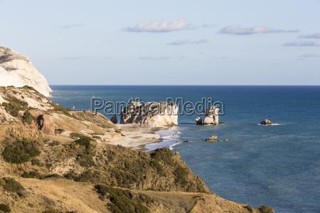 coastal view at petra tou romiou
