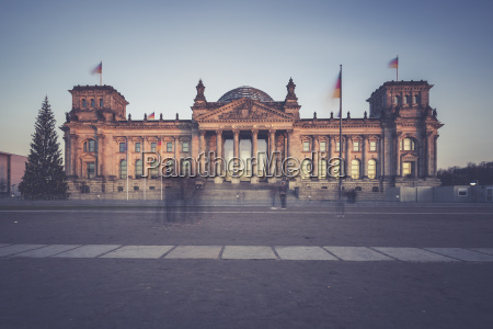 germany berlin reichstag building at christmas
