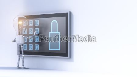 gluehbirne eingabe pin code