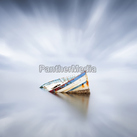 france occitanie leucate wrecked ship