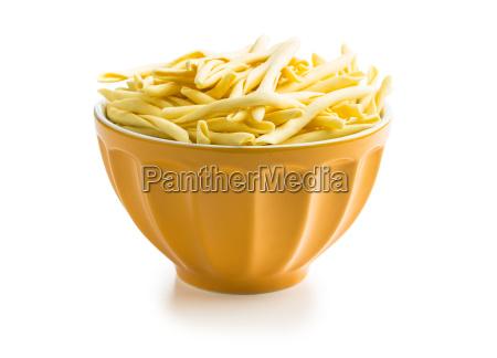 raw italienische pasta