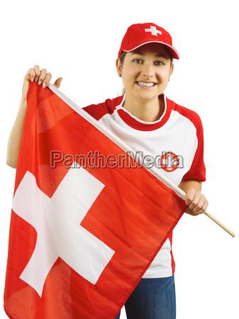 jubel fuer schweizeres sportteam