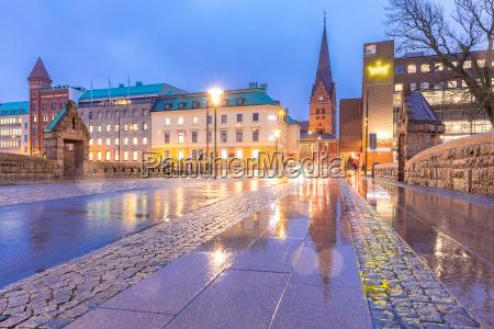 malmo cityscape schweden