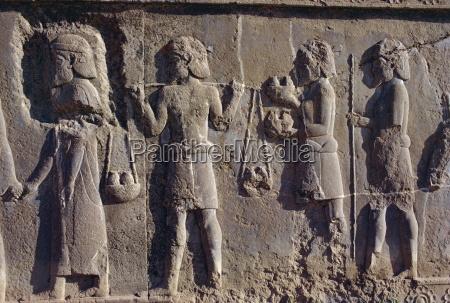 reliefs persepolis unesco world heritage site