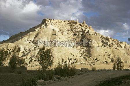 citadel bamiyan shahr gholghola afghanistan asia