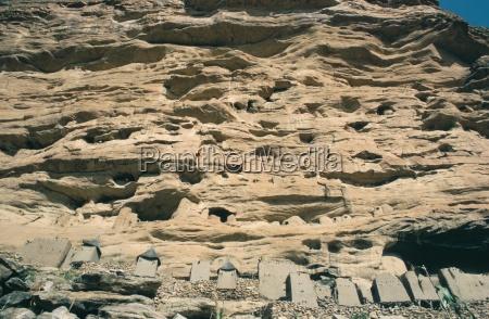 paseo viaje casas ciudad piedra africa