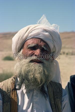 baluchi elder pakistan asien