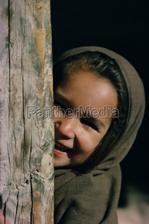 portrait of a young girl pakistan