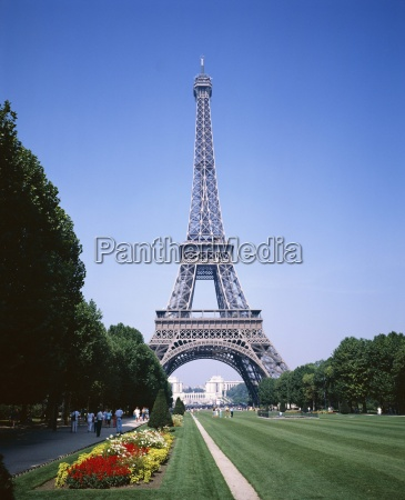 the eiffel tower paris france europe