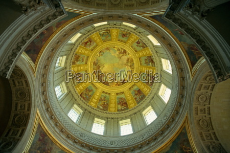 interior of the dome of les