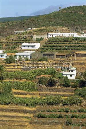 fahrt reisen haeuser landwirtschaft ackerbau terrassen