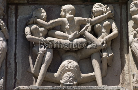 detail, aus, dem, kandariya, mahadev, tempel, western - 20579109