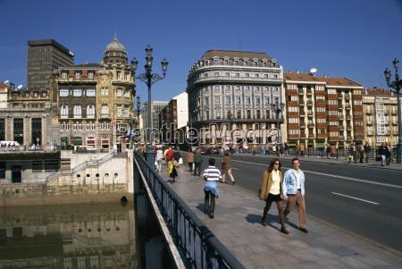 fahrt reisen bruecke europa spanien horizontal