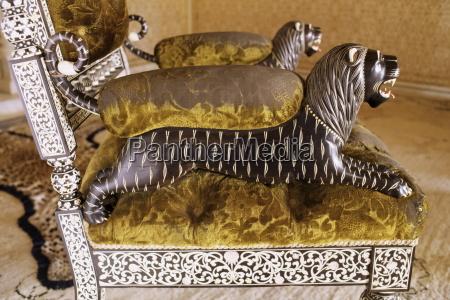 ebony wood and ivory inlay detail
