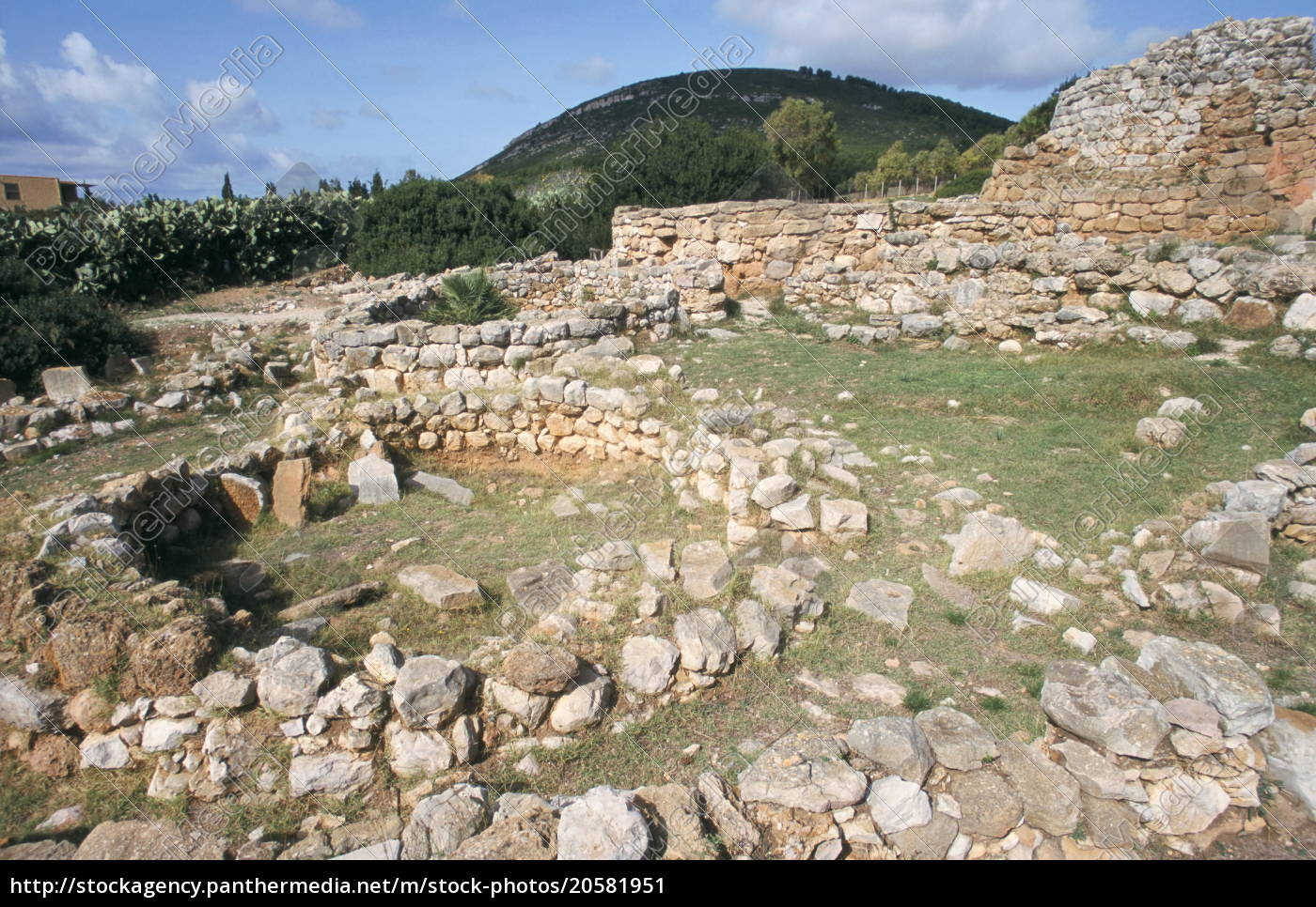 nuraghe, di, palmavera, , dating, from, 13th - 20581951