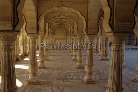 interior of amber fort and palace