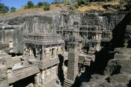 kailasa hindu temple 1200 years old