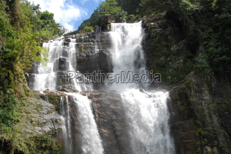 ramboda falls nuwara eliya hill country