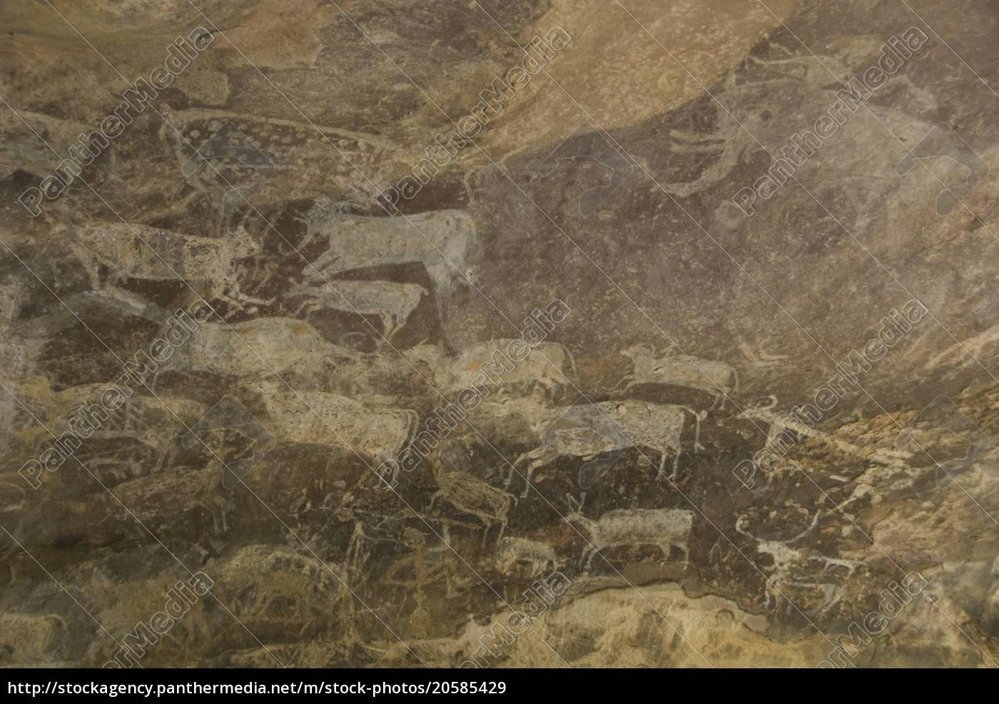 einige, der, tiere, in, den, paläolithischen - 20585429