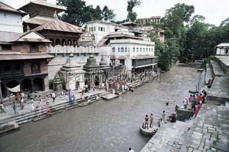 pashupatinath temple kathmandu nepal asia