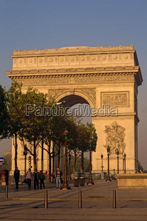 fahrt reisen gewoelbe europa paris frankreich