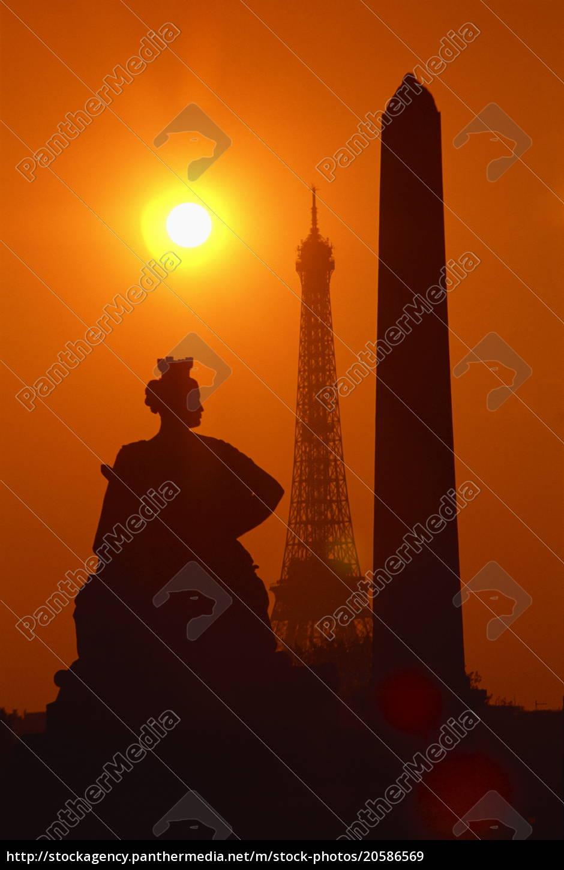 der, eiffelturm, der, obelisk, von, luxor, 3200, jahre - 20586569