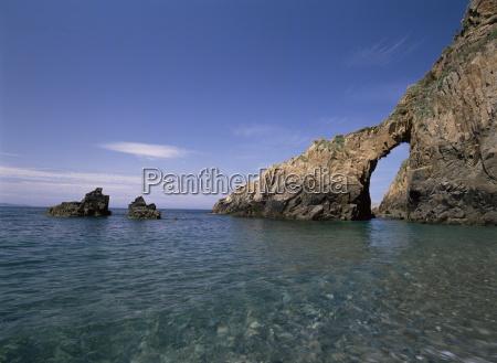 coast of the island of sark