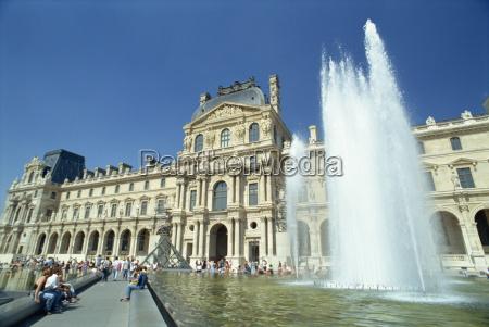 fahrt reisen europa horizontal paris museum