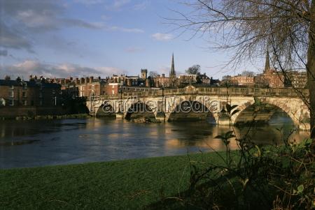 english bridge shrewsbury shropshire england united