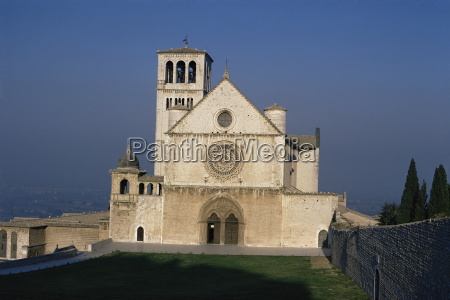 the basilica of st francis assisi