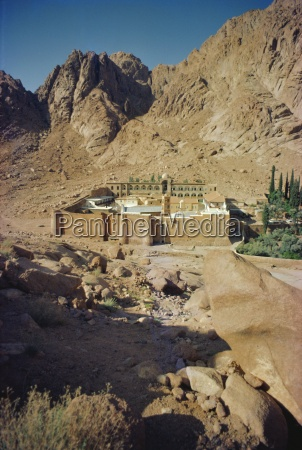 st catherines monastery sinai egypt north