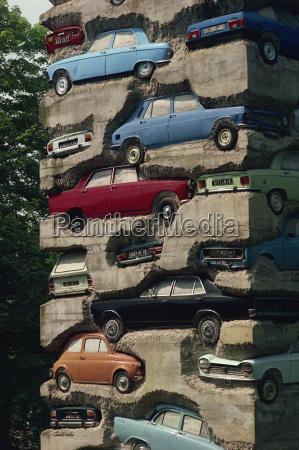 long term parking arman 1982 fondation