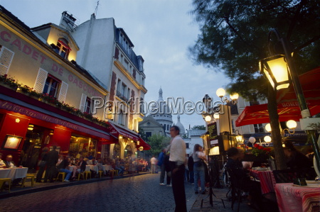the place du tertre popular with