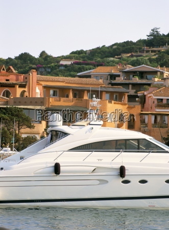 yachts in the harbour porto cervo