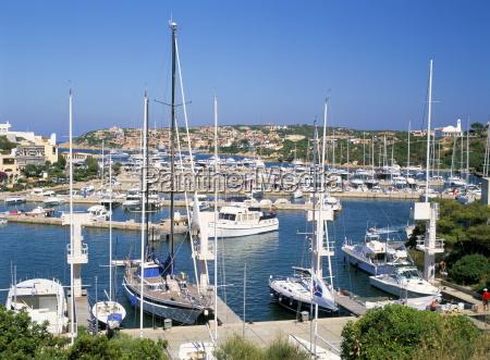 the marina in porto cervo costa