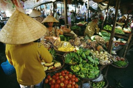fruit market hoi an vietnam indochina